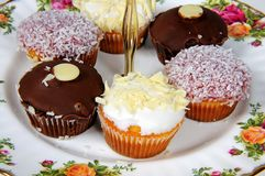 Cupcake selection. Royalty Free Stock Photo