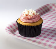 Cupcake on serving tray Royalty Free Stock Image