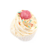 Cupcake shaped bath bomb isolated Royalty Free Stock Image