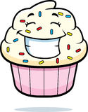 Cupcake Smiling Royalty Free Stock Photos