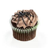 Cupcake With Spider on Top Royalty Free Stock Photos