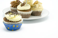 Cupcake stand Royalty Free Stock Images
