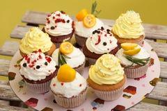 Cupcake_stock_4 arkivbilder