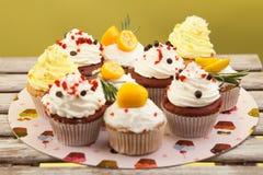 Cupcake_stock_5 royaltyfri bild