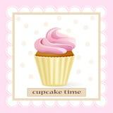Cupcake tame Stock Image