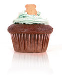 Cupcake with Teddy Stock Images