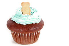 Cupcake with Teddy Royalty Free Stock Photography
