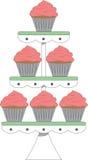 Cupcake Tier Stock Image