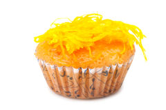 Cupcake with topping Stock Photo