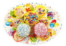Cupcake treat Stock Images