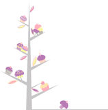 Cupcake tree Stock Image