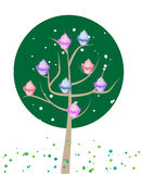 Cupcake tree Royalty Free Stock Photography