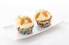 Cupcake twee Royalty-vrije Stock Fotografie
