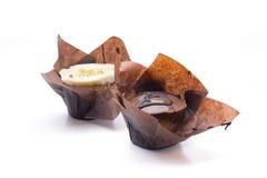 Cupcake twee royalty-vrije stock afbeelding