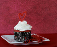 Cupcake Valentine Royalty Free Stock Images