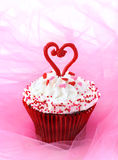Cupcake for Valentine Royalty Free Stock Photo