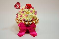 Cupcake   Valentine's  Day Royalty Free Stock Photo