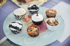 Cupcake variety of different Royalty Free Stock Image