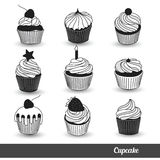 Cupcake vector2 Royalty Free Stock Photography