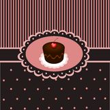 Cupcake vintage 3 vector illustration