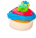 Cupcake on a white background Royalty Free Stock Image