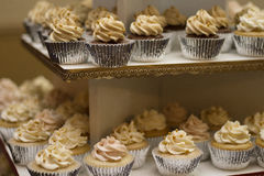 Cupcake With White Frostings Royalty Free Stock Photography