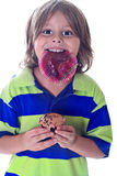 Cupcake wrapper kid Royalty Free Stock Photography