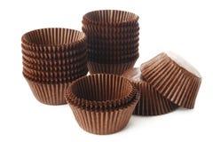 Cupcakekop op wit Royalty-vrije Stock Foto