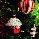 Cupcakeornament Royalty-vrije Stock Fotografie
