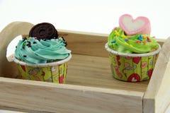 Cupcakepastelkleur Stock Fotografie
