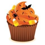 cupcakeprint Halloween Fotografia Stock