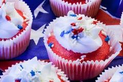cupcakes αστέρι Στοκ φωτογραφίες με δικαίωμα ελεύθερης χρήσης