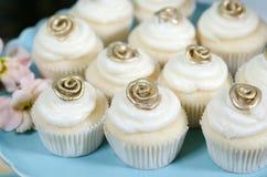 cupcakes γάμος Στοκ Εικόνα