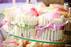 cupcakes γάμος Στοκ Εικόνες