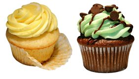 cupcakes γαστρονομικός Στοκ εικόνα με δικαίωμα ελεύθερης χρήσης
