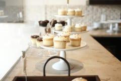 cupcakes δίσκοι Στοκ Εικόνες