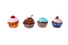cupcakes διαφορετικά τέσσερα Στοκ φωτογραφία με δικαίωμα ελεύθερης χρήσης