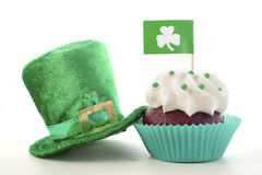 cupcakes ημέρα patricks ST Στοκ εικόνες με δικαίωμα ελεύθερης χρήσης
