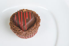 cupcakes καρδιά Στοκ Εικόνα
