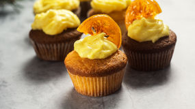 cupcakes νόστιμος Στοκ Φωτογραφία