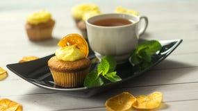 cupcakes νόστιμος Στοκ φωτογραφία με δικαίωμα ελεύθερης χρήσης