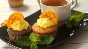 cupcakes νόστιμος Στοκ εικόνες με δικαίωμα ελεύθερης χρήσης