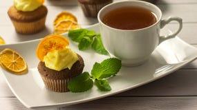 cupcakes νόστιμος Στοκ Φωτογραφίες
