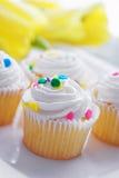 cupcakes Πάσχα Στοκ εικόνα με δικαίωμα ελεύθερης χρήσης
