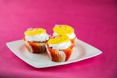 cupcakes Πάσχα Στοκ Φωτογραφίες