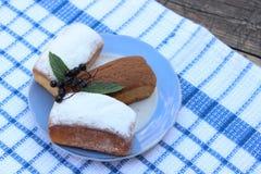 Cupcakes σε ένα πιάτο Στοκ φωτογραφίες με δικαίωμα ελεύθερης χρήσης