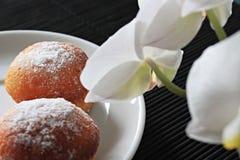 Cupcakes στο πιάτο Στοκ Εικόνες