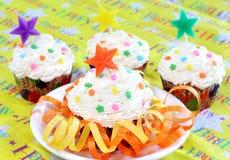 cupcakes συμβαλλόμενο μέρος Στοκ φωτογραφία με δικαίωμα ελεύθερης χρήσης