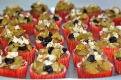 cupcakes σύνολο σιταριού Στοκ εικόνα με δικαίωμα ελεύθερης χρήσης