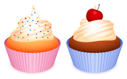 Cupcakes. Royalty Free Stock Photo